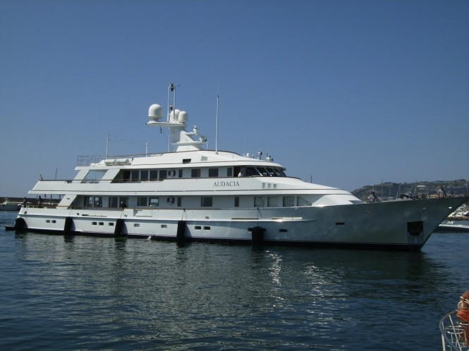 46.5 m motor yacht AUDACIA - Image courtesy of Pendennis shipyard