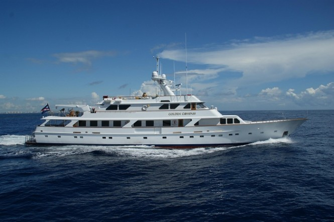 46m luxury charter yacht Golden Compass by Picchiotti