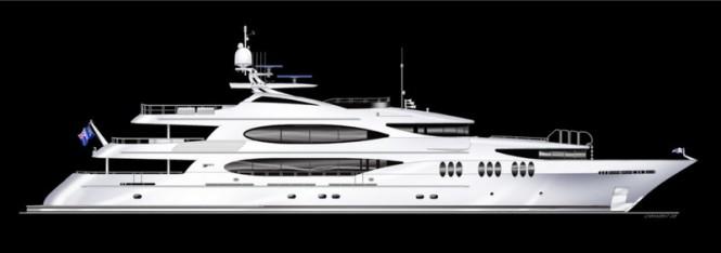 50m motor yacht Tsumat (ex T-057) by Trinity Yachts