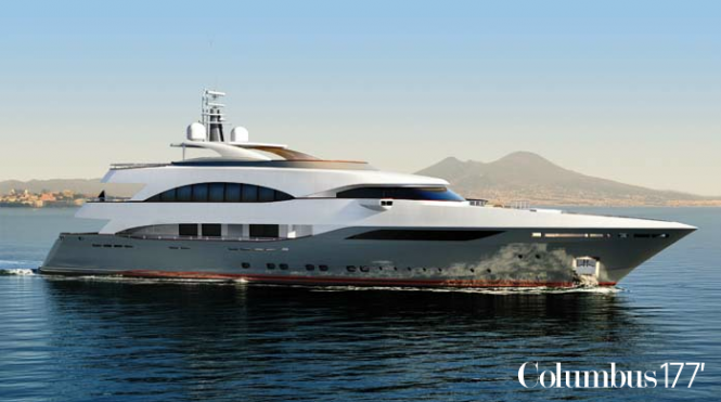 53.7m Prima Superyacht by Palumbo