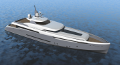 55m Pendennis motor yacht Phantom designed by Reymond Langton Design