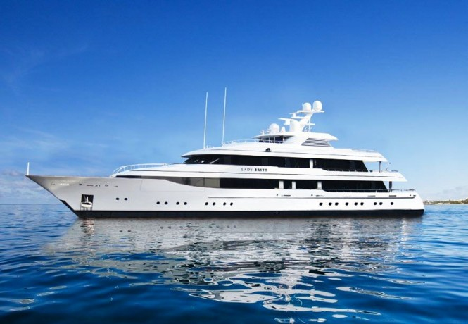 63m Luxury Charter Yacht LADY BRITT