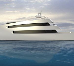 70m Motor Yacht PRIONA by Scott Henderson