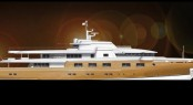 70m motor yacht concept designed by Sam Sorgiovanni for Azzura Yachts