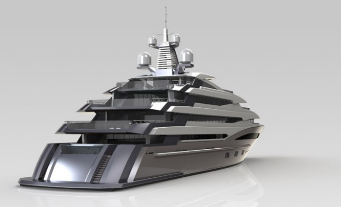 72m Displacement Luxury Yacht (P1070)