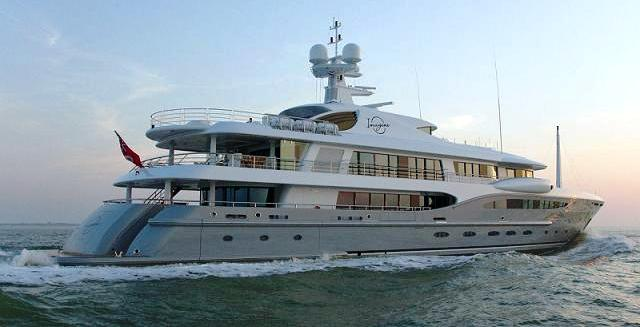 Amels 212 Limited Edition Super Yacht Imagine