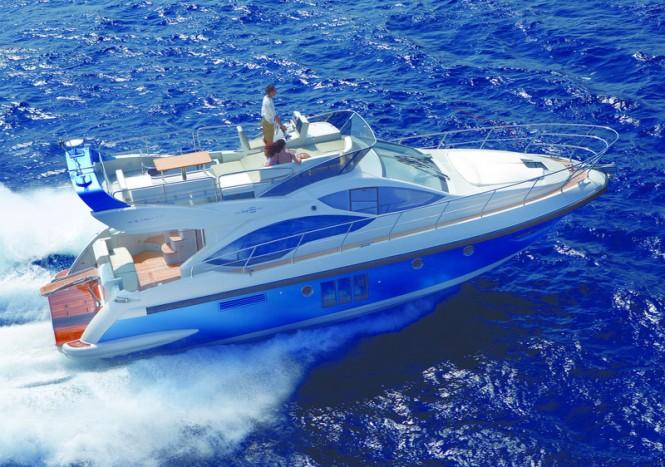 Azimut 45 Yacht