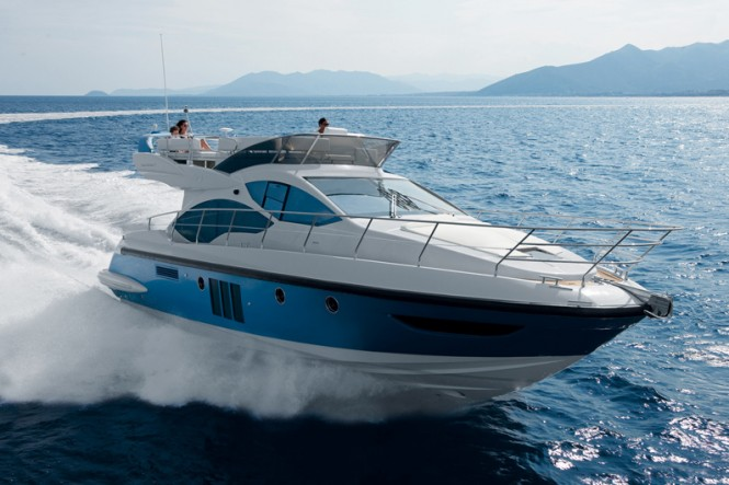 The luxury yacht Azimut 45 has also been named a finalist for European ...