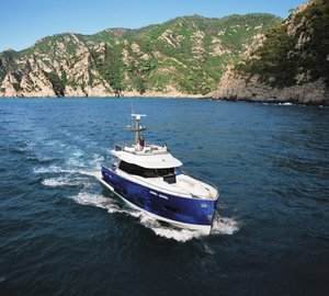Azimut motor yacht Magellano 50 wins the 2011 UIM Environmental Award