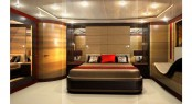 Beautiful interior of the 50m Pendennis super yacht Phantom by Reymond Langton Design