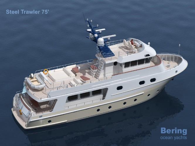 Bering 75´ Yacht