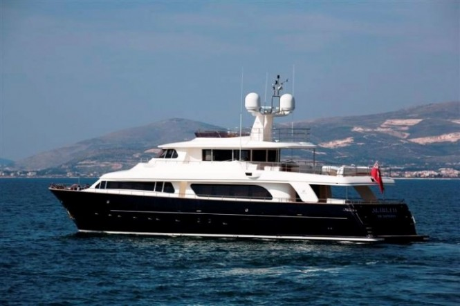 Charter Yacht MARIA II of London - Another example of stunning Ferretti vessel