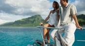 Enjoy your charter holidays in TAHITI - charter luxury yacht MISS KULANI -Photo by Tim McKenna Photography©