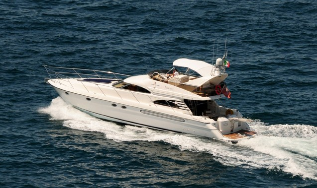 Fairline charter yacht Liberty of Limington
