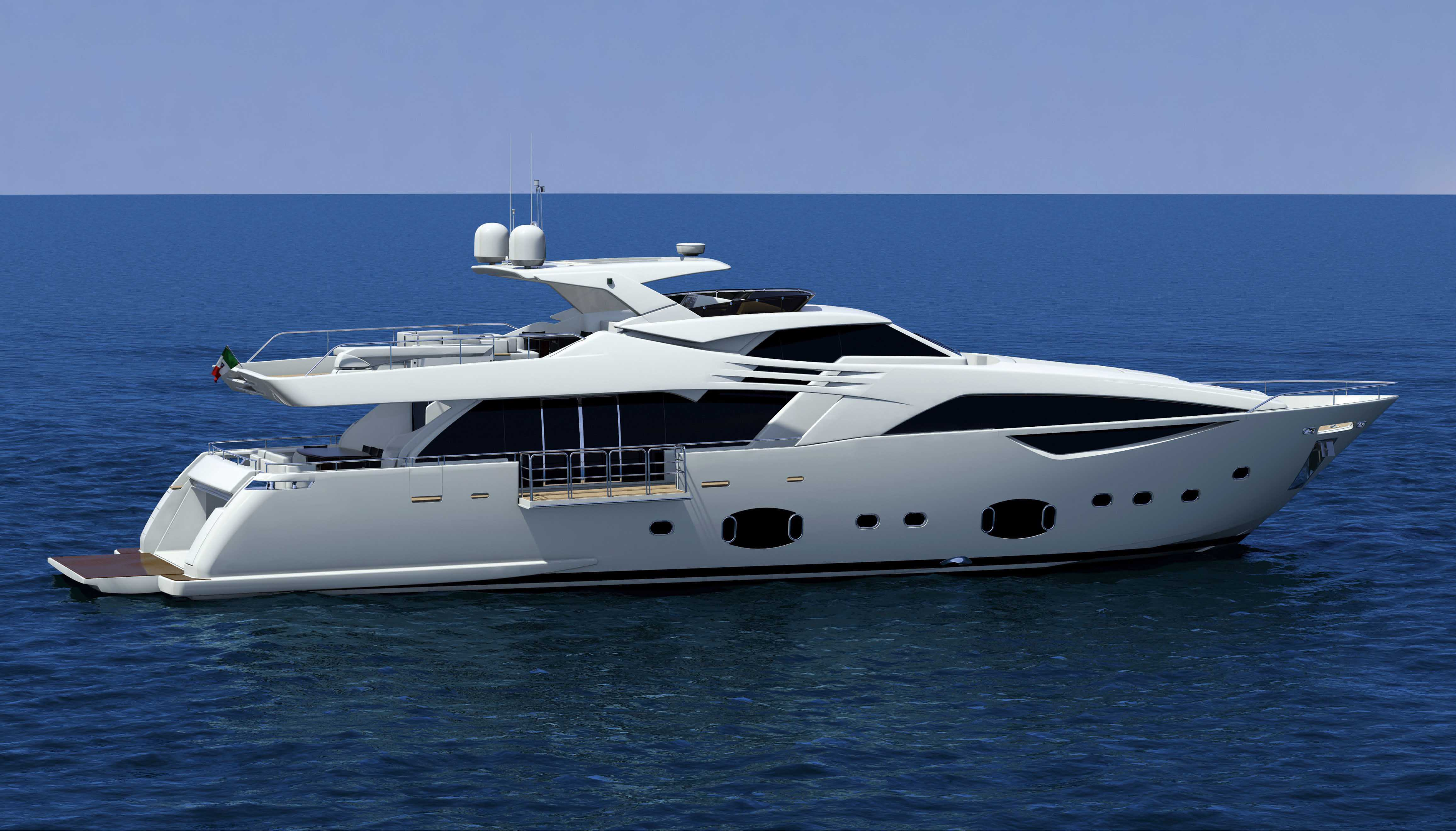 Ferretti Custom Line 100 Yacht Yacht Charter