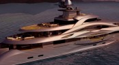 H2 90m motor yacht MARS engineered by Fincantieri Yachts
