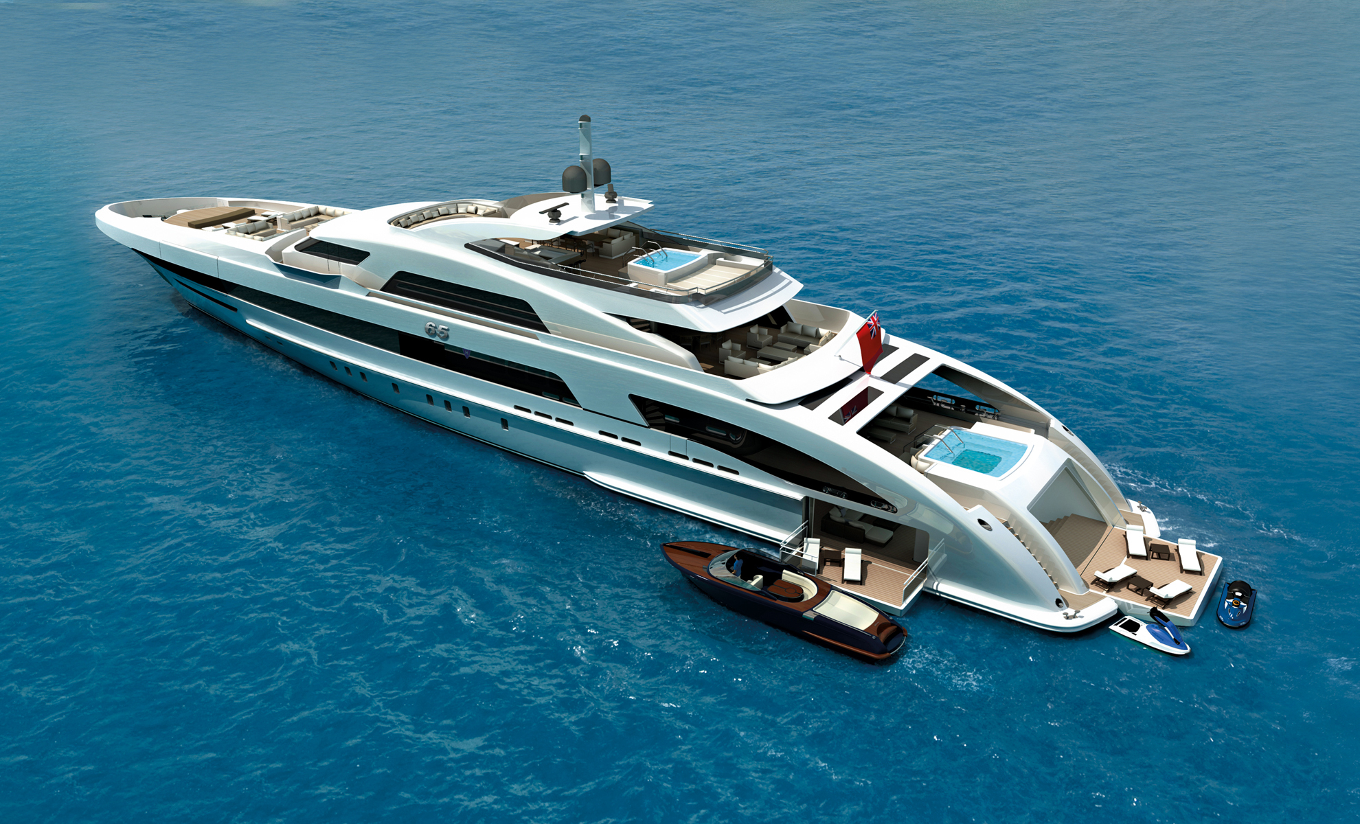 Heesen 65m Yacht The World S First Fast Displacement