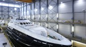 Heesen Super Yacht Lady L (ex Project Zentric) successfully launched on January 13th