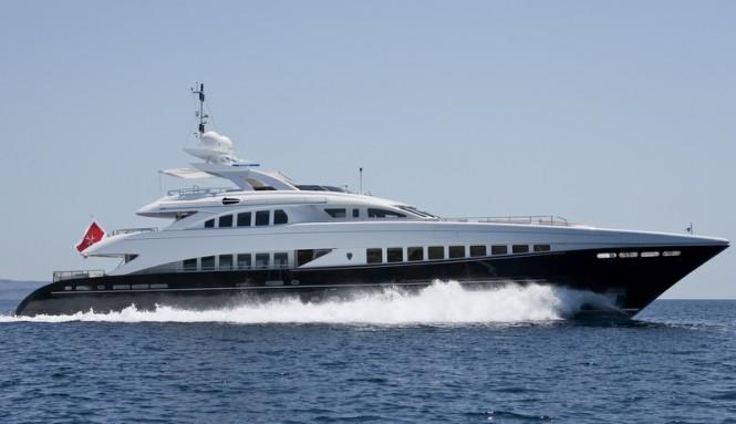 Sistership to super yacht Lady L - luxury motor yacht Petra
