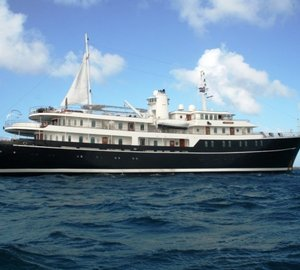 Luxury superyacht Sherakhan's Caribbean charter special