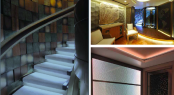 Interior lighting designed by I3D for super yacht PACIFIC