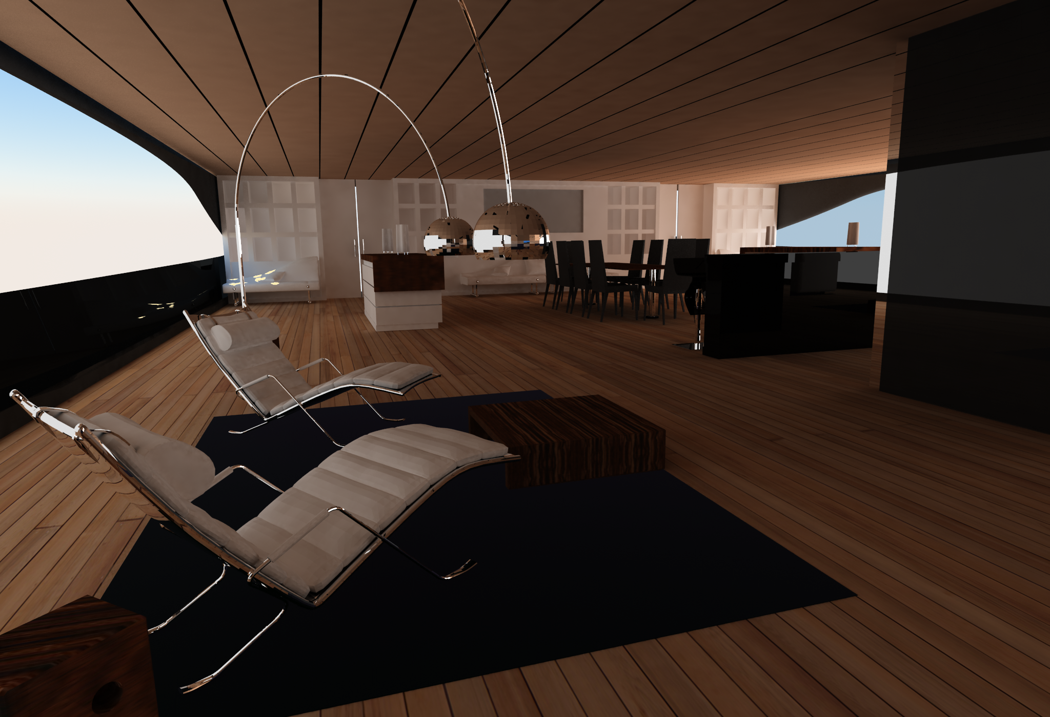Yacht Interior Design Pama Architetti Design  Luxury Yacht Charter & Superyacht News