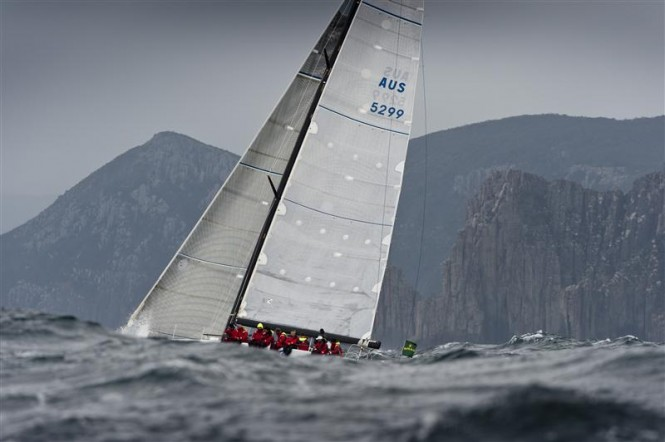 Chris Bull´s sailing yacht JAZZ Photo: ROLEX/K. Arrigo