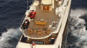 Lady Trudy Superyacht - view from above