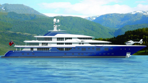 Lurssen 85m Motor Yacht Project Nicki