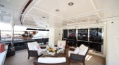 Luxurious Exterior on board Super Yacht Lady Trudy