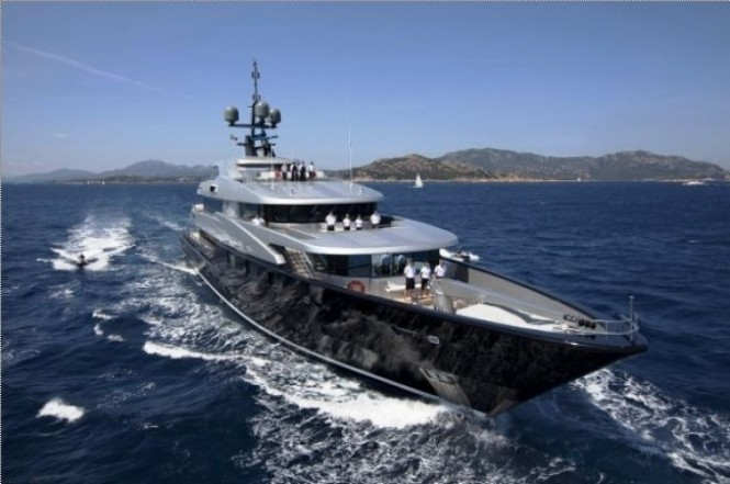 Luxury Superyacht Slipstream - Photo credit CMN