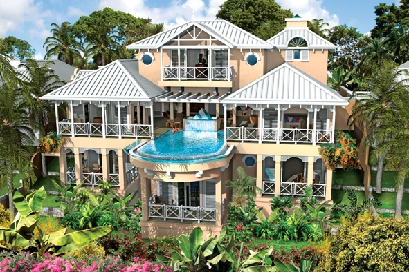 Luxury Villas at Port Louis Marina
