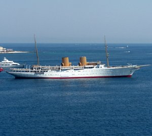 Photos of mega yacht Pacific, Al Salamah, motor yacht Nero and charter yacht Savarona