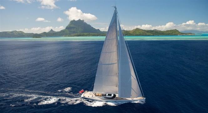 Luxury yacht SALPERTON IV