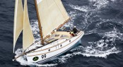 Sean Langman´s Maluka of Kermandie yacht Photo: ROLEX/D. Forster