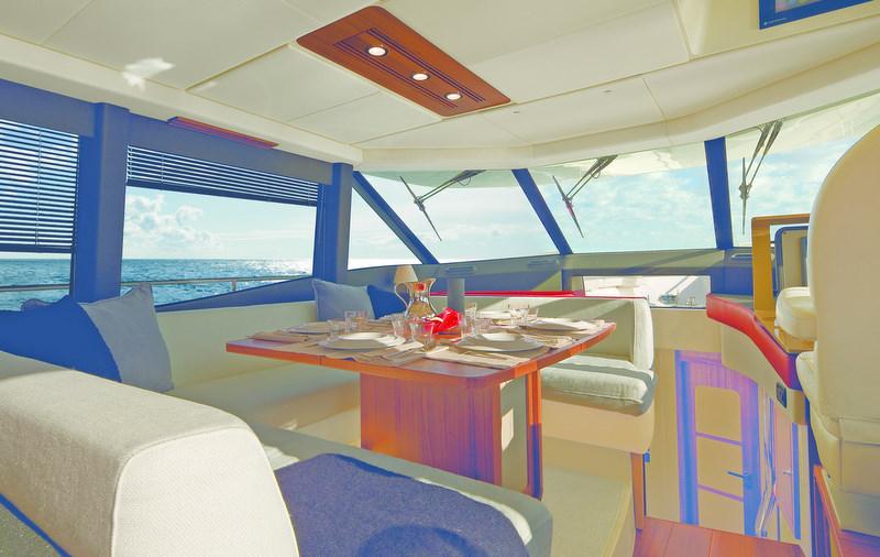 Azimut motor yacht Magellano 50 premier.