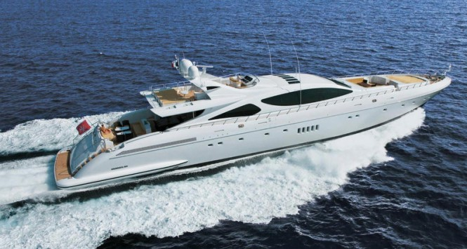 Mangusta 165 Superyacht