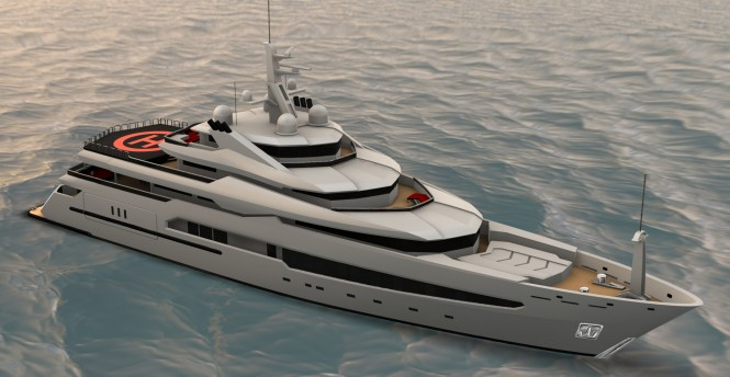 Moore Yacht Design created 73m superyacht based on the Pegaso platform