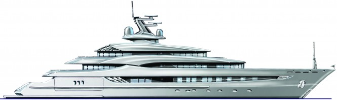 More elegant and curvaceous yacht design called 'SHE'
