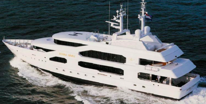 Motor Yacht Double Haven - Image credit to Feadship
