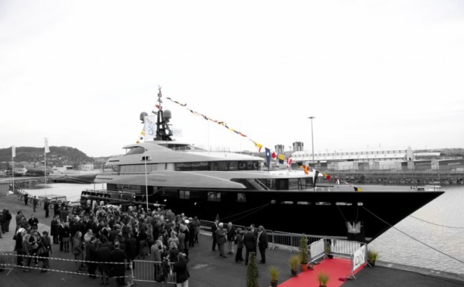 Motor Yacht Slipstream at her launch