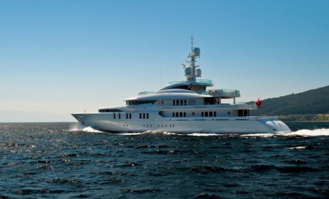 Motor Yacht Talisman C - Image courtesy of Proteksan Turquoise