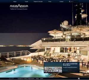 New Website launched by Oceanco on 1st January 2012