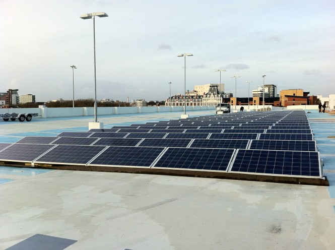 Ocean Car Park Solar Installation. Anna Wyse, Environmental Policy Manager ...