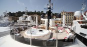 On board 43m luxury yacht Lady Trudy by CRN