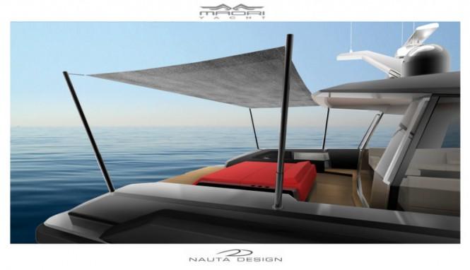 On board 24m Maori 78´ Yacht Tender