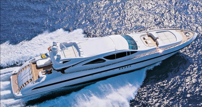Overmarine Superyacht Mangusta 130