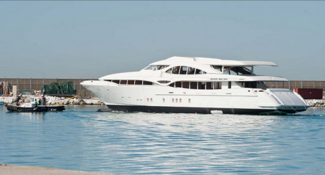 Overmarine luxury motor yacht Mangusta 148