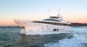 Princess 32M superyacht Image credit Princess Yachts International