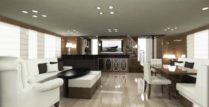 Sailing Yacht Conrad 115 Interior